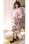Квіткове плаття великого розміру сезону 2021 недорого LB207801
