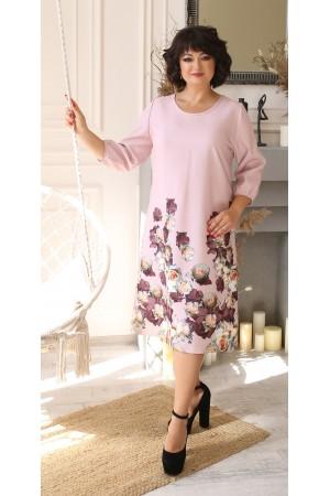 Замечательное платье с принтом цветов LB207801