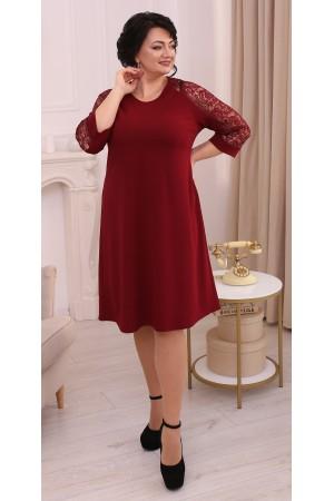Ніжне плаття великого розміру LB213203