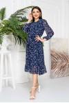 Літня сукня квіткова YM42106 синє 2021
