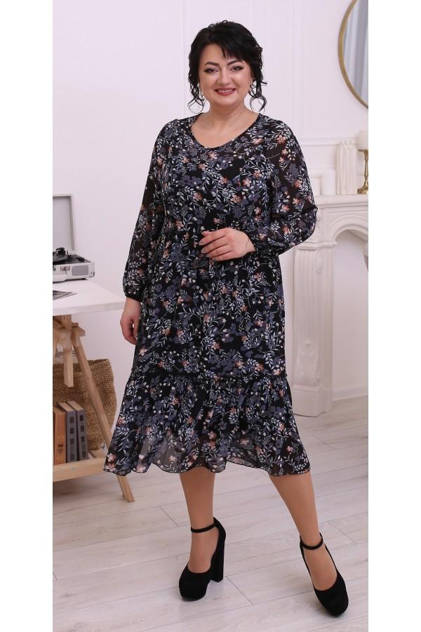 Чудова вільна весняна сукня  LB214601