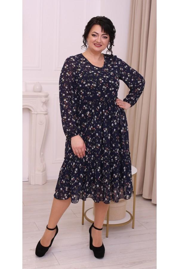 Чудова вільна весняна сукня  LB214603