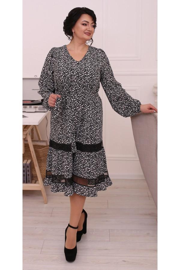 Ніжна вільна весняна сукня  LB215102