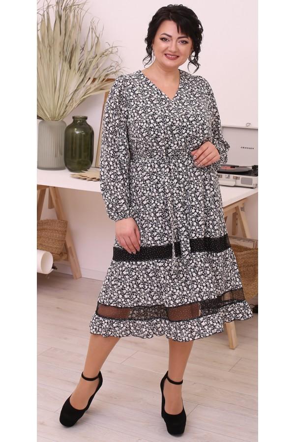 Ніжна вільна весняна сукня  LB215101