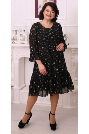 Стильна вільна весняна сукня LB216503