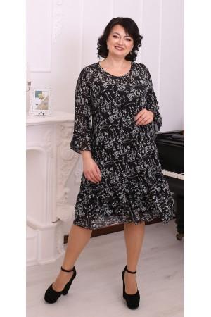 Стильна вільна весняна сукня LB216504
