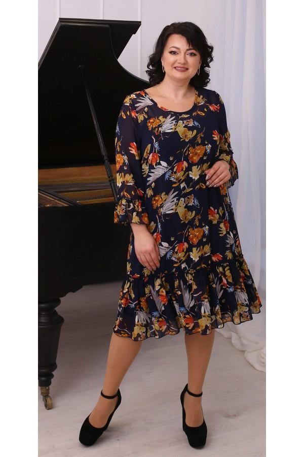 Стильна вільна весняна сукня LB216501
