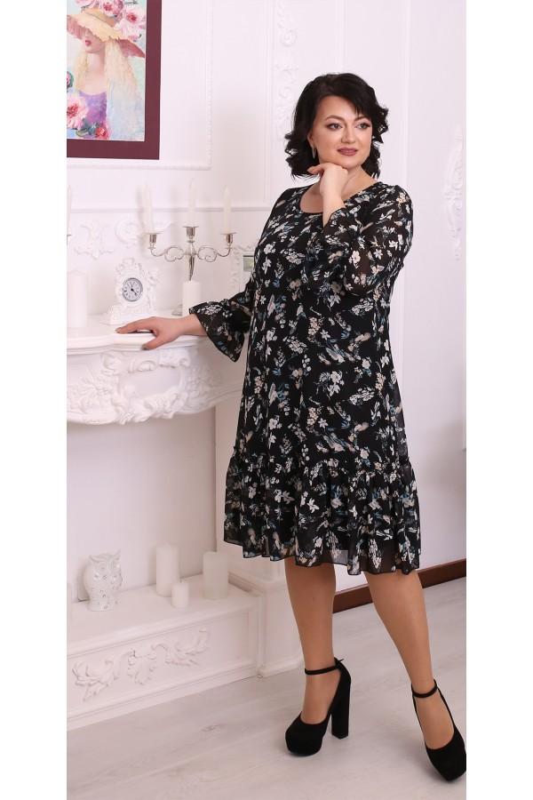 Стильна вільна весняна сукня LB216502