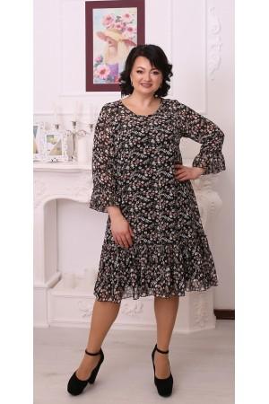 Стильна вільна весняна сукня LB216505
