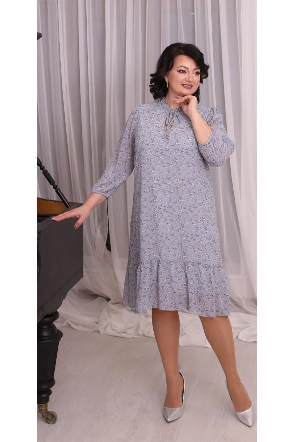 Тендітна вільна весняна сукня  LB214504