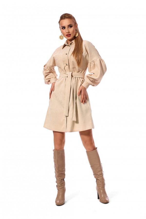 Плаття - сорочка в романтичному стилі SL120201
