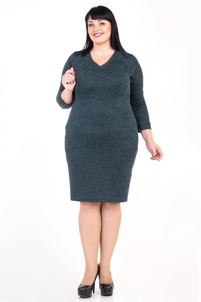 Купити плаття Лорін VN35703 зеленого кольору 2018-2019 великого ... 3aba2c9a9857a