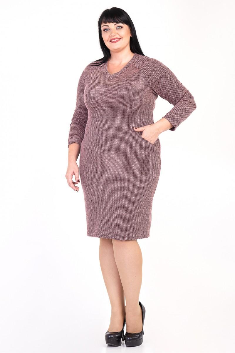 Купити плаття Лорін VN35704 рожевого кольору великого розміру із ... 0ad51fa4e3f2d