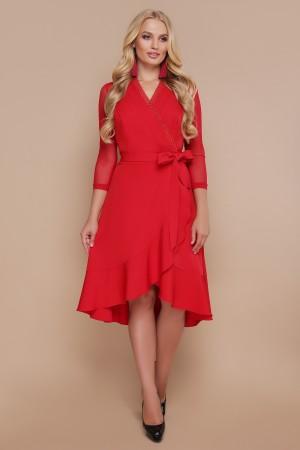 Плаття Алеся GL688701 червоного кольору