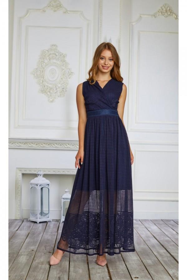 Сукня нарядна сезону 2021 HD59601.  Довжина сукні по спинці - 95см.