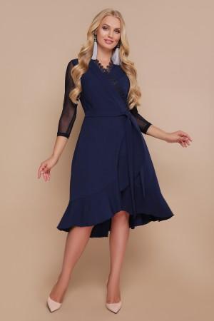 Плаття Алеся GL44197 синього кольору