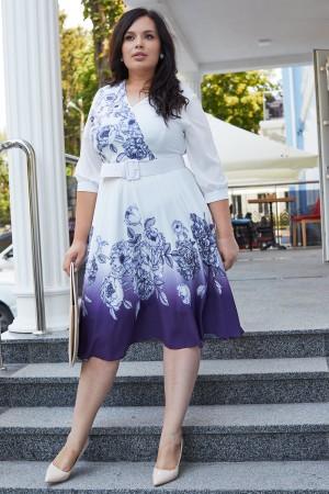Жіночна сукня з квітами HD69701