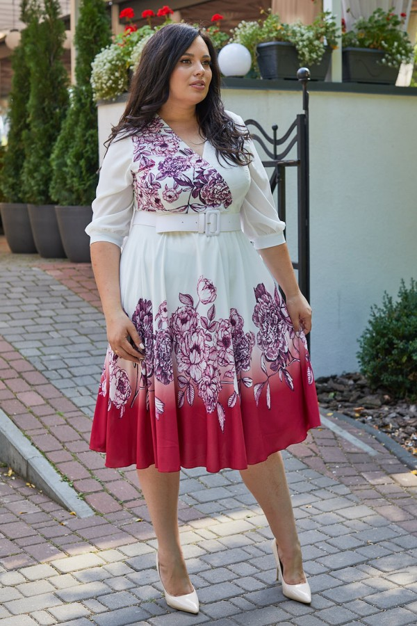 Жіночна сукня з квітами HD69702