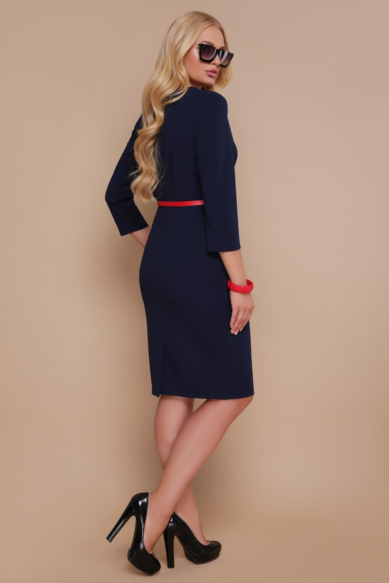 1bf1a6acbcb Купить платье Елария GL688303 синего цвета недорого с доставкой в ...