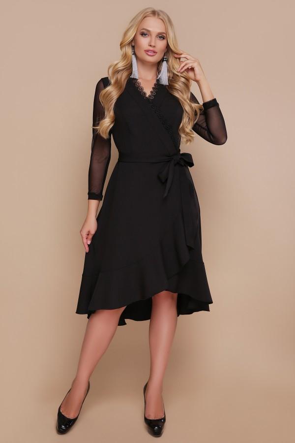 Платье Алеся GL688903 черного цвета