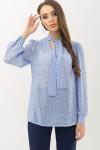 Блузка в горошок Аза д/р GL6652402