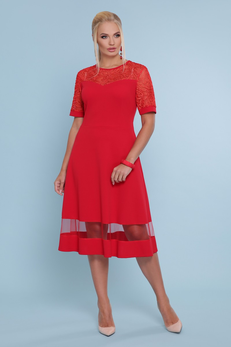 23b875f934a Купить платье Аида-Б к р GL47692 красный недорого в Украине