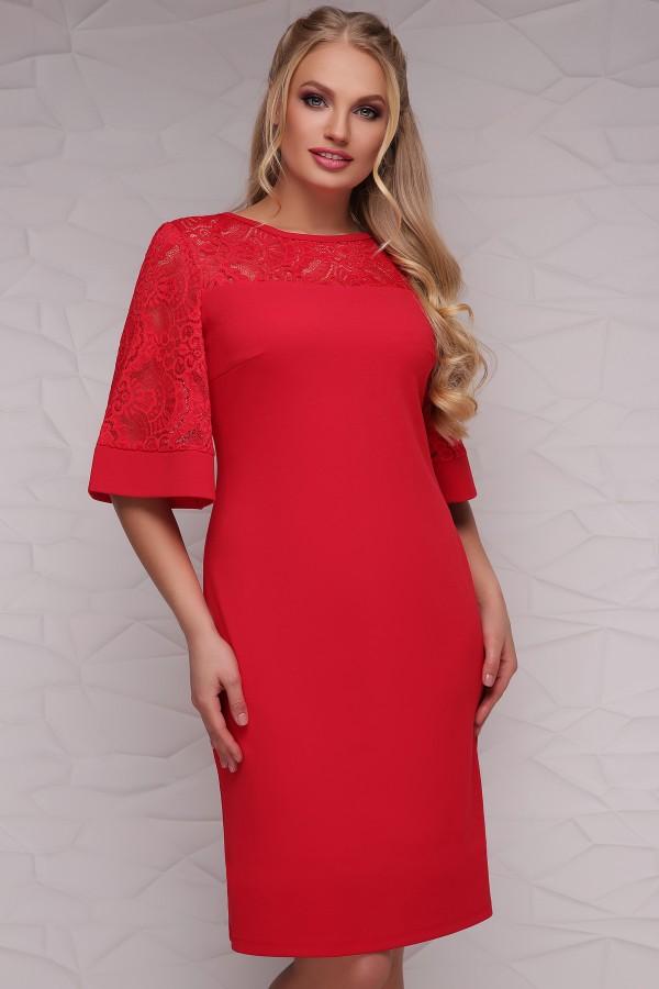 платье Мирина-Б к/р GL40524 красный