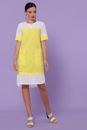 Сукня Саті-3 к/р GL49833 колір жовтий