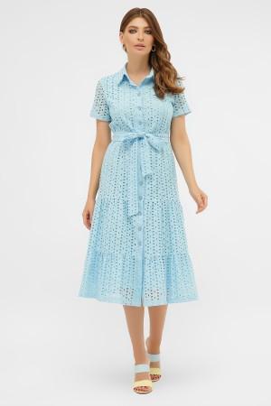 сукня Уника 1 к/р GL58315 блакитний