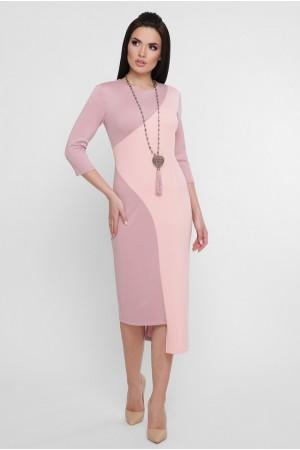Сукня Willow PL-1753B колір пудровий, персиковий