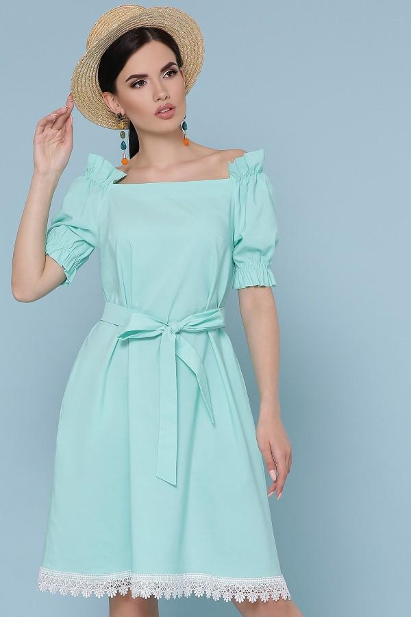 Платье Бланка  GL49240 цвет мята