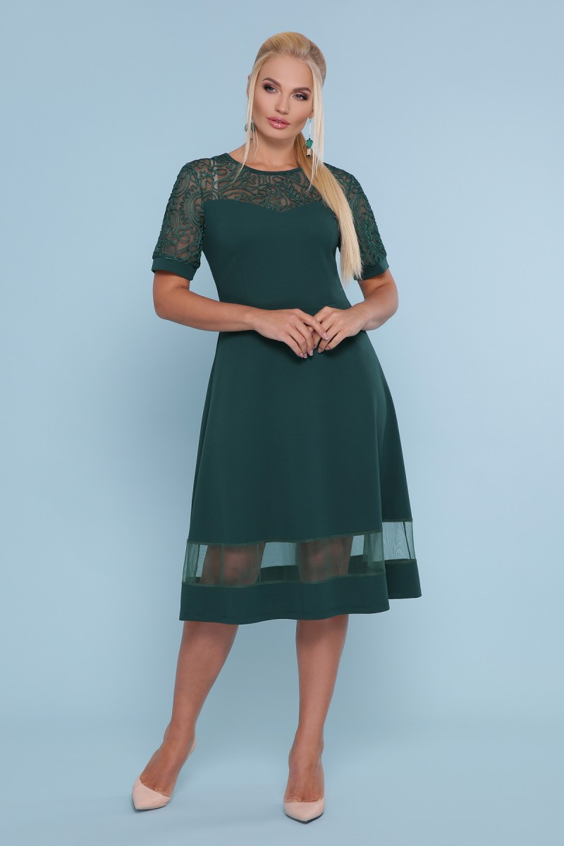 851d688804c Купить платье Аида-Б к р GL47691 изумруд недорого в Украине