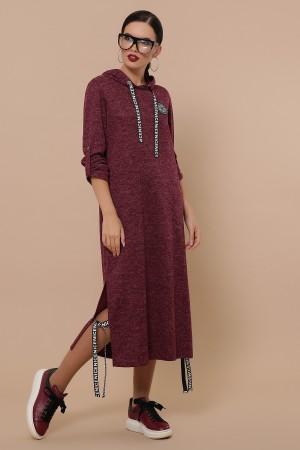 Сукня Далія д/р GL50928 колір бордо