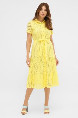 сукня Уника 1 к/р GL58318 жовтий
