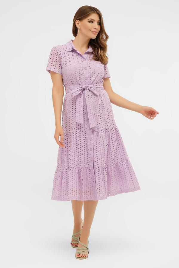 платье Уника GL58316 лаванда