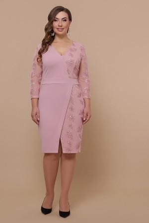Сукня Лария-Б д/р GL51923 колір ліловий