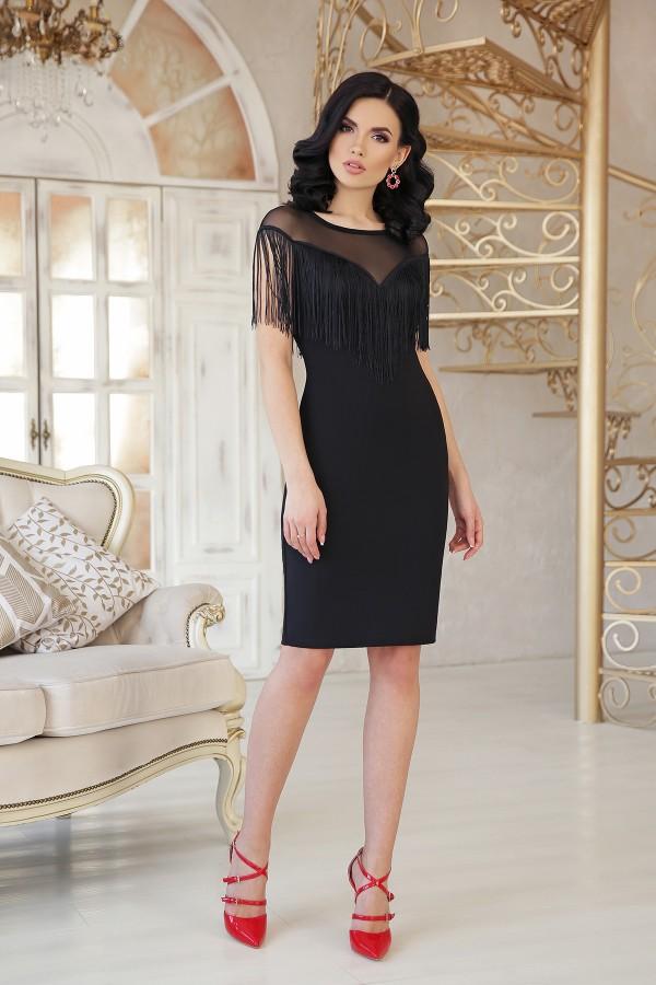 Сукня Шерон 2 б/р GL47335 колір чорний