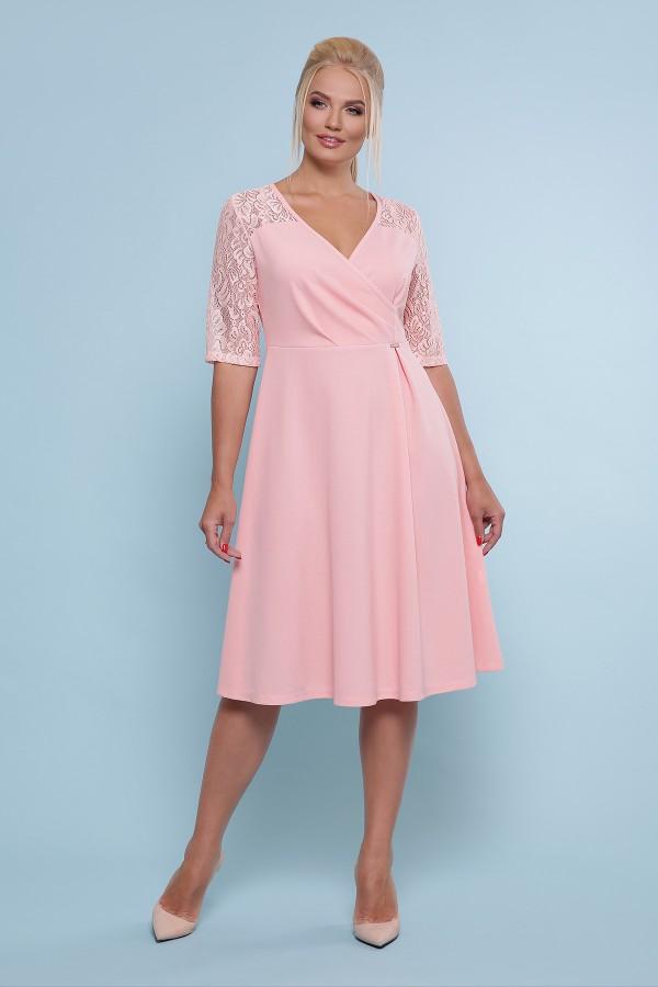 платье Ида-Б к/р GL47603 персик