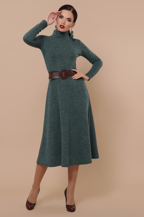 Ава плаття д/р GL51263 колір смарагд