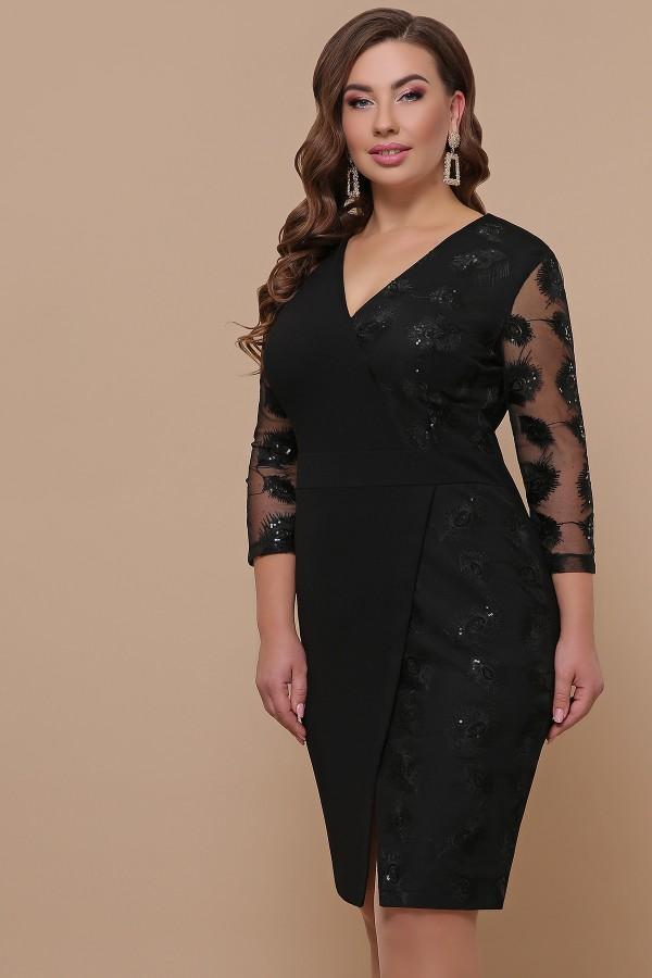 Сукня Лария-Б д/р GL51921 колір чорний