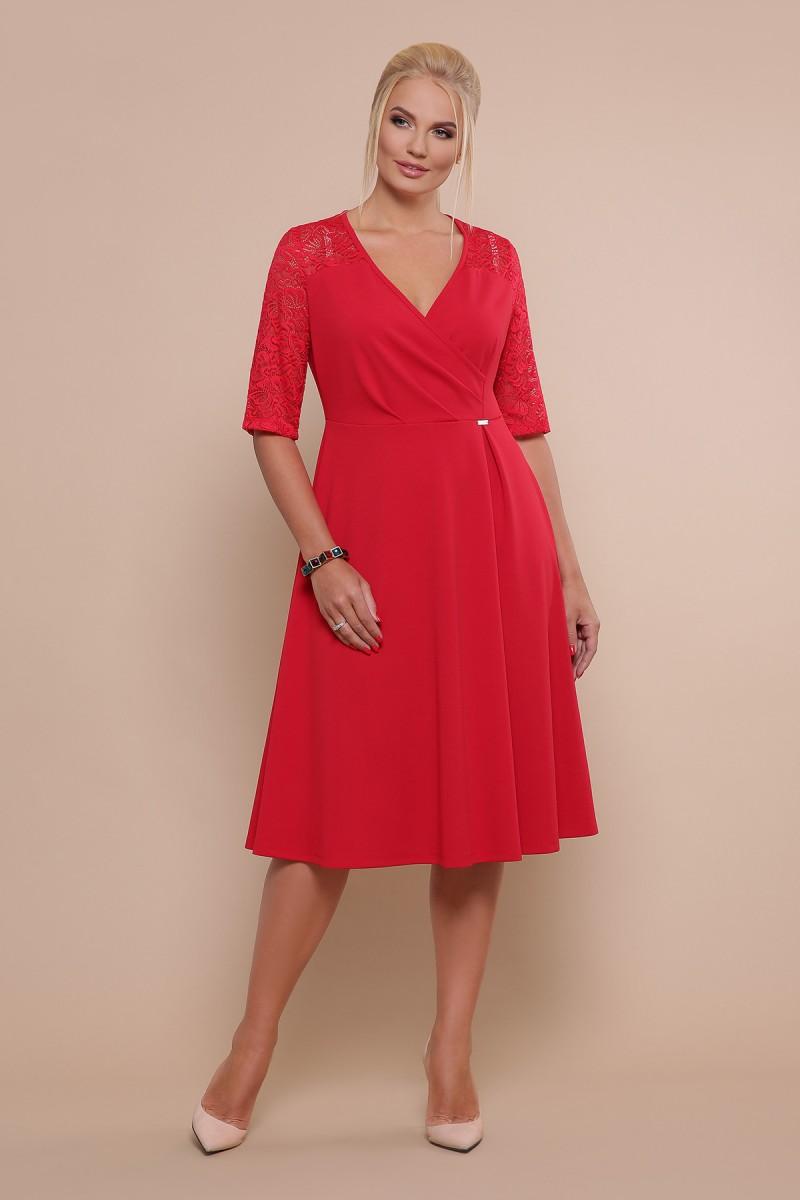 f5adfcd2d19 Купить платье Ида-Б к р GL47601 красный недорого в Украине