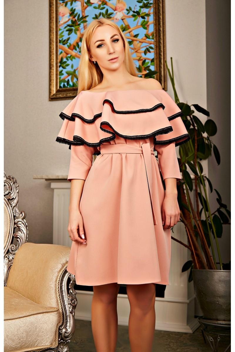 43f474b9287fb1 Купити Елегантне плаття Динара AD01709 7599-05 великого розміру ...