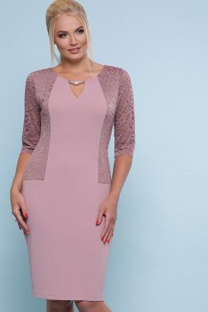 платье Адина-Б д/р GL47538 лиловый