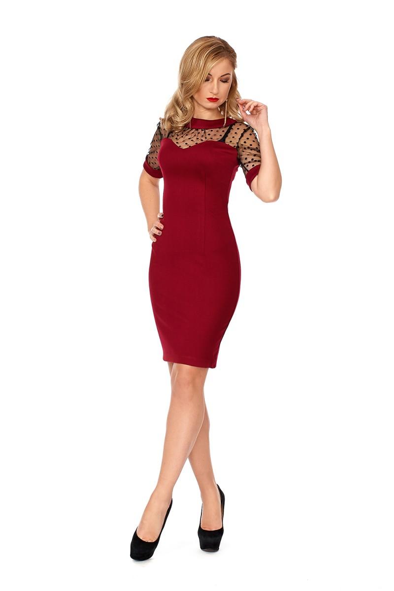 Купити плаття з сіткою SF11601 від виробника з доставкою у Львів ... 88368d4dd83e4