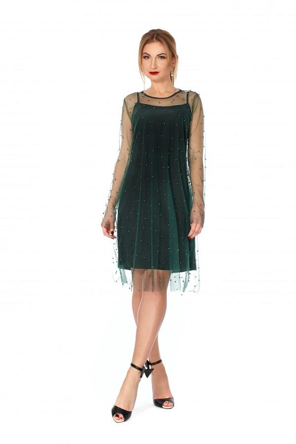 Вечірня сукня SF112402 з стрейч-сіткою