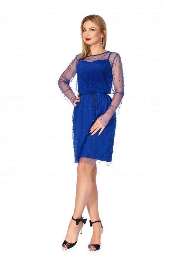 Вечірня сукня SF112401 з стрейч-сіткою