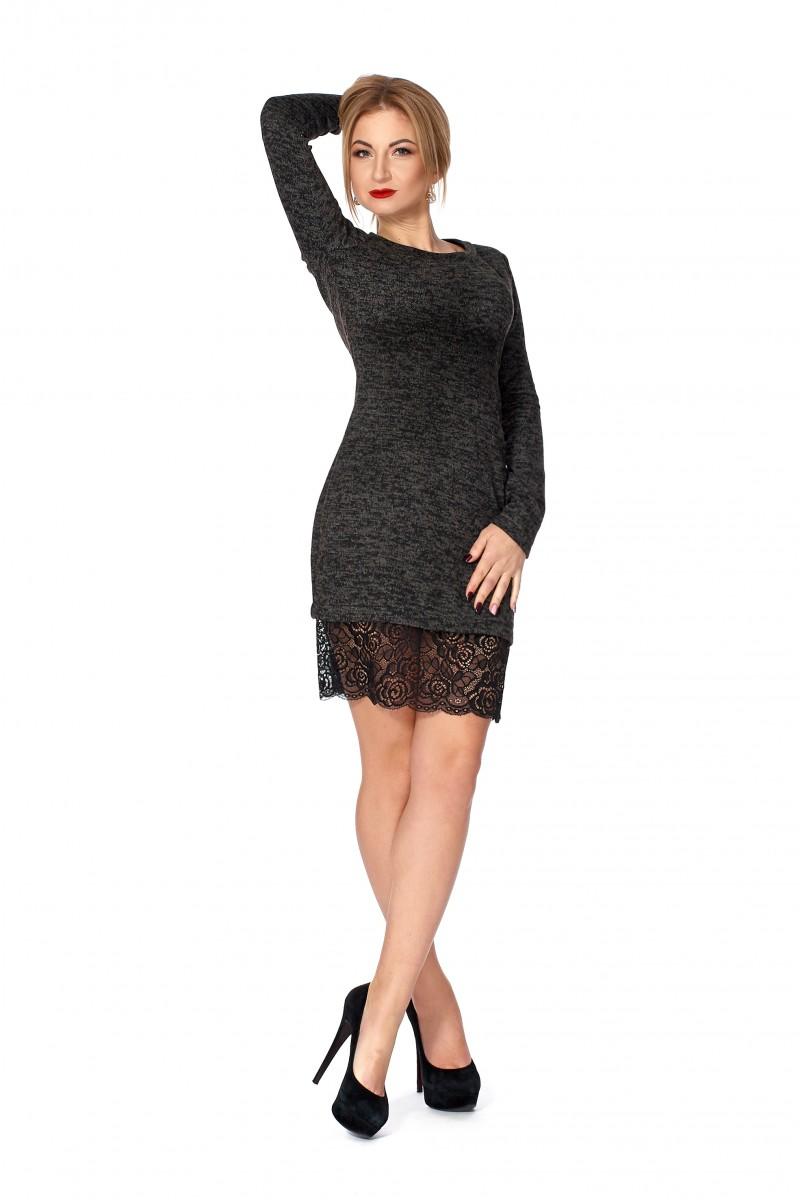 7c6930efd26206 Купити плаття з ангори SF112501 від виробника з доставкою у Львів ...