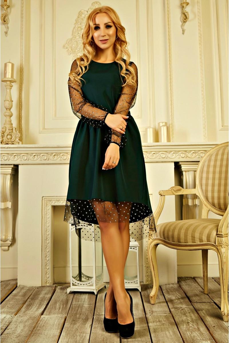 Купити вишукане плаття 2019 без передплати AD727502 зеленого кольору ... b4a28756935c6
