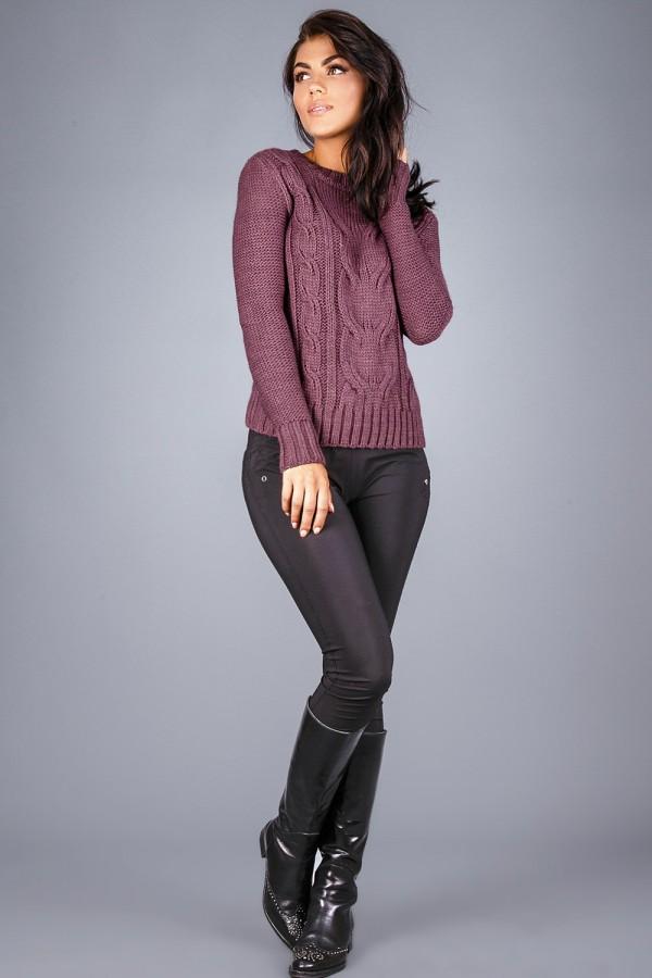 Джемпер 1211 пурпурный