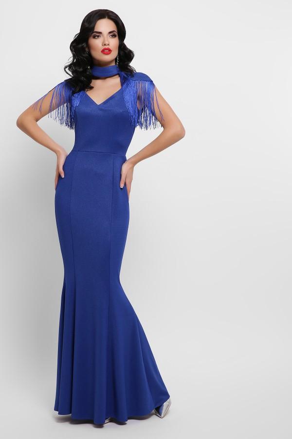 Платье Альфия б/р GL53203 цвет синий